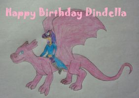 Happy Birthday, Dindella! by ReptanArtWar