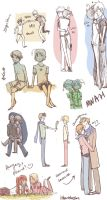 random hetalia couples by iHeartNargles