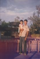 me n my dad by Lepeng