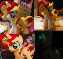 Sunset Shimmer Plushie by SunsetShimmerss
