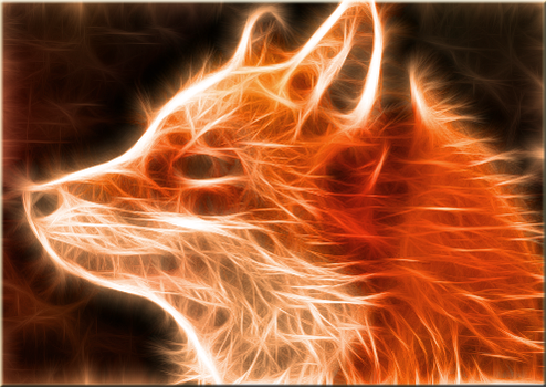 Translucent Fox by Queen-Blanca
