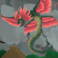 Kukulkan -  Myths and legend contest by Shevaara