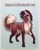 Canine Character Design Auction - Closed by Plaguedog