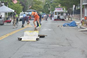 Summer Days Street Fair, Skateboarder Balance by Miss-Tbones