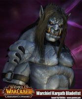Warcraft : Warchief Kargath - Warlords of Draenor by GastonBR