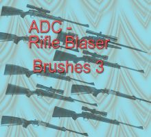ADC Brushes - rifle Blaser 3 by 4sundance