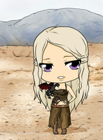 Daenerys Stormborn - Mother Of Dragons by Mibu-no-ookami