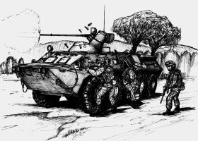 BTR-80 by ThomChen114