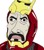 Avengers IRON MAN by holdypause