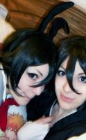 Chappy Rukia Cuddle Puddle by BleachcakeCosplay