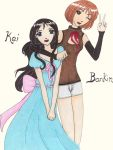 Kei and Bankin by Madcaffineartist