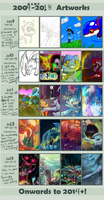 Art work 2009-2013 by Srarlight