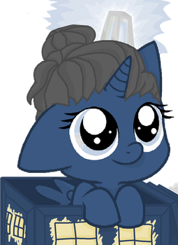 This Is what they call TARDIS in Equestria by ChriFiM