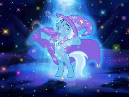 The Great and Powerful Trixie Wallpaper by GreenMachine987
