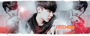 BLOG HEADER: LUKUS HAEWON by chazzief