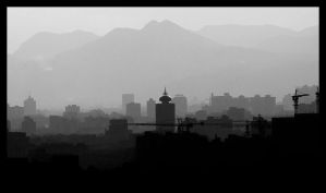 Kunming Skyline by Eman333