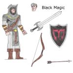 OC - Black Magic 3 (Hero) by BlackMagicProduction