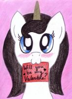Will you be my Valentine? by EliskaPonikova