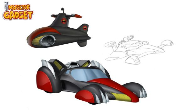 MAD Vehicles by Dominic-Marco