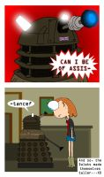 Short Daleks by Moon-manUnit-42