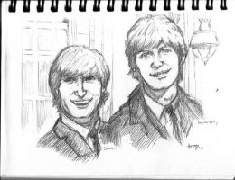 Lennon-McCartney by bensonput