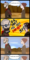 Talking in the Mojave by Ran2Chaos