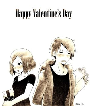 Happy Valentine's Day 2012 again by Mikeinel