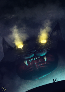 CATZILLA! by renegadesoldier