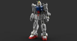 Ground gundam by Troopermanaic
