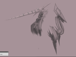 The Catch And Liberator Concept Doodles by Metie