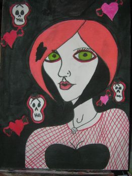 skulls and love by GypsyWillow82