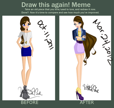 Draw This Again Meme by WinxThinkPink