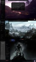 Skyrim Desktop beta by yorgash