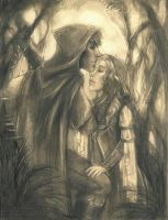 Robin Hood and Maid Marian by Felt-heart
