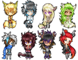 +- KDL - Chibi Batch - No.1 -+ by Myebi