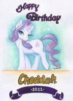 Birthday Card [Front] by chibiki