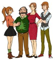 La Famiglia Summers by french-teapot