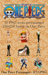 One Piece PNG icon personnages by Crountch