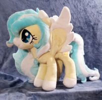 Vanilla Snowflake :OC Plush Commission: by AppleDew
