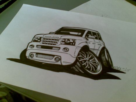 Range Rover by toby182