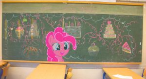 Chalkboard party by M99moron