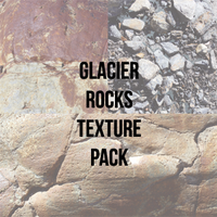 Glacier Rocks Texture Pack (17 images) by ArtByPauline