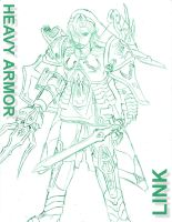 Heavy Armor Link by ZephX