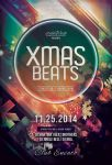 Xmas Beats Flyer by styleWish