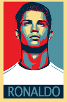 Cristiano Ronaldo Vintage by mikevectores