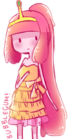 [Adventure Time] Princess Bubblegum! by kiruiru