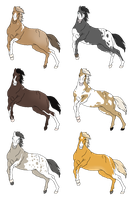 Equine Adoptables 2 - TAKEN by EquineAdoptables