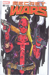 Lady Deadpool sketch Cover by Danielleister