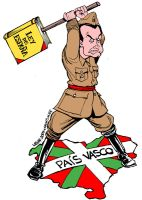 Zapatero and Basque Country by Latuff2
