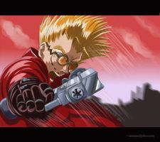 VASH the Stampede by Cezann